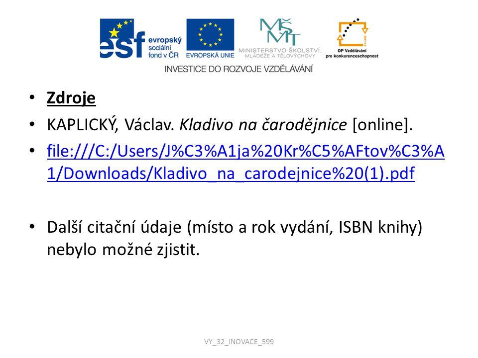 KAPLICKÝ, Václav. Kladivo na čarodějnice [online].